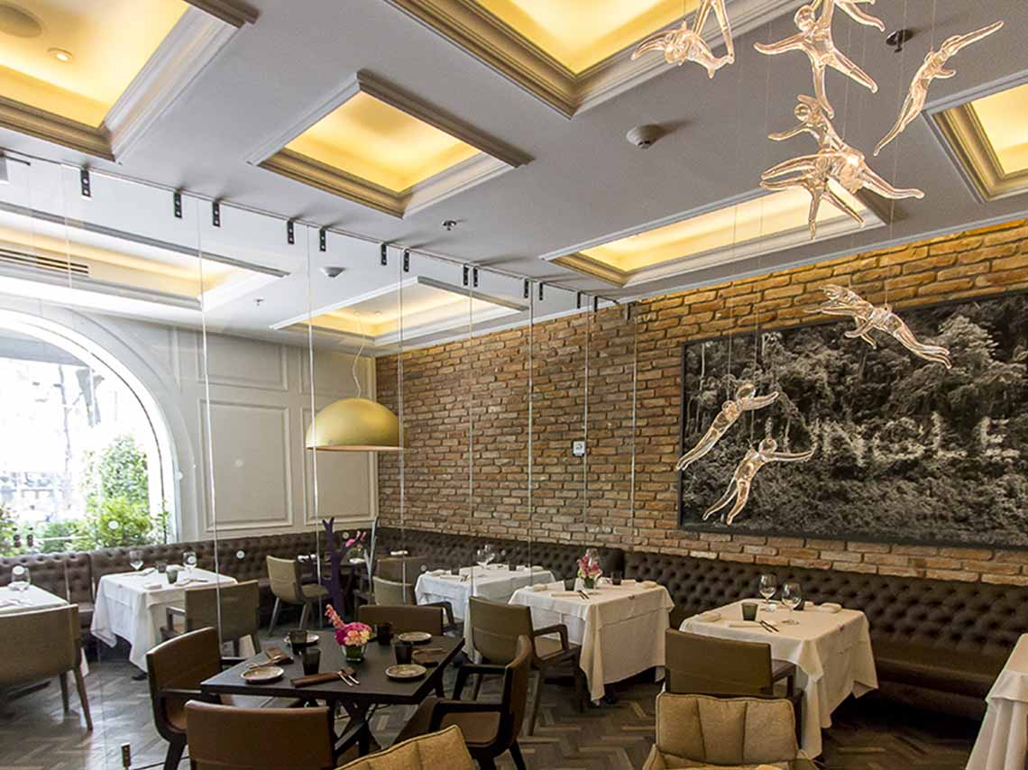 Il Becco, menú italiano en Hotel Four Seasons