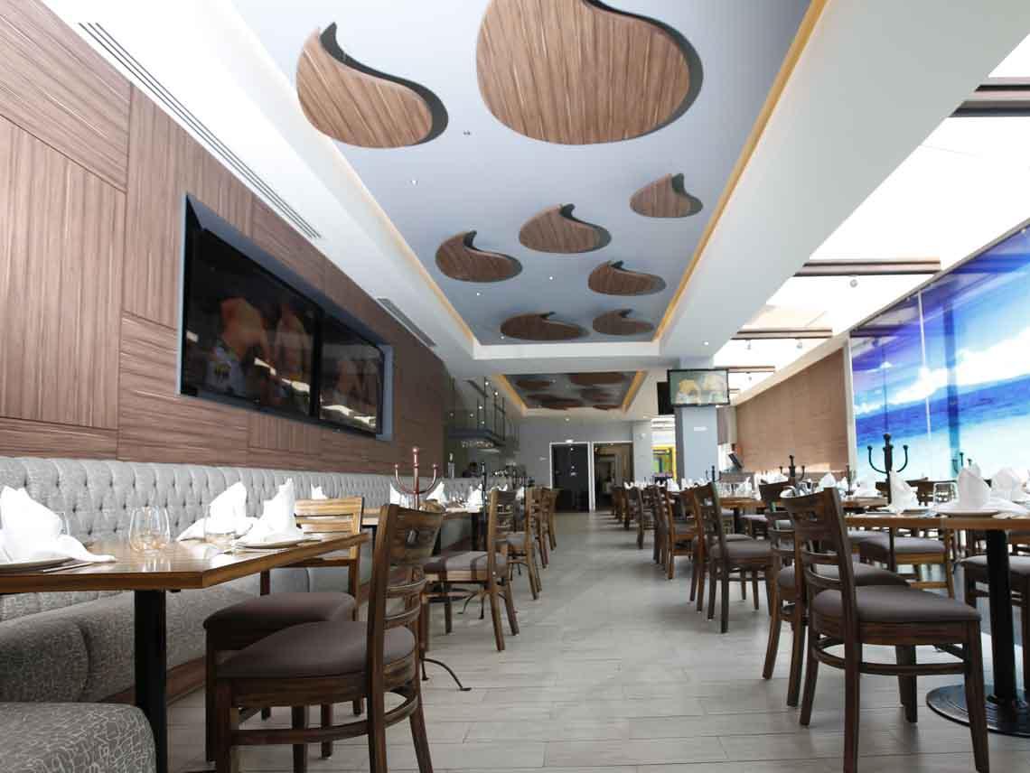 Goleta, restaurante de alta cocina de pescados y mariscos
