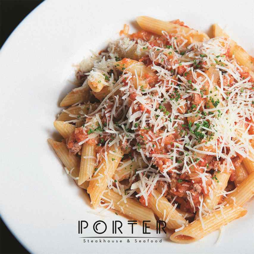 Porter, speakeasy con menú accesible
