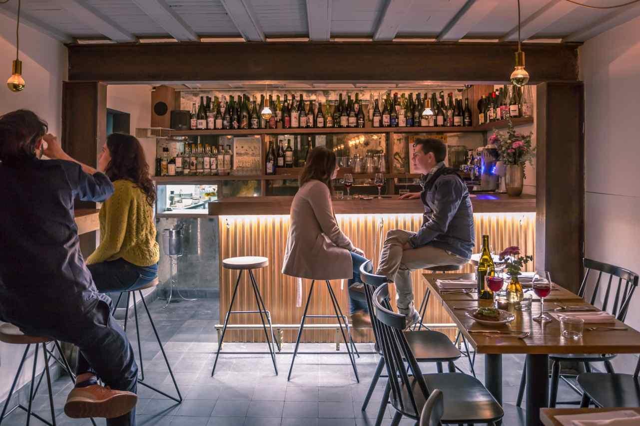 Loup Bar, el placer de beber vino
