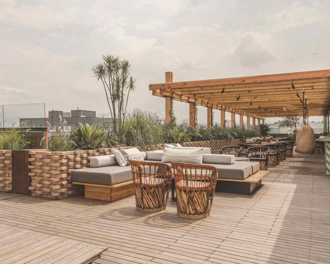 Toledo Rooftop, terraza rústica en la ciudad