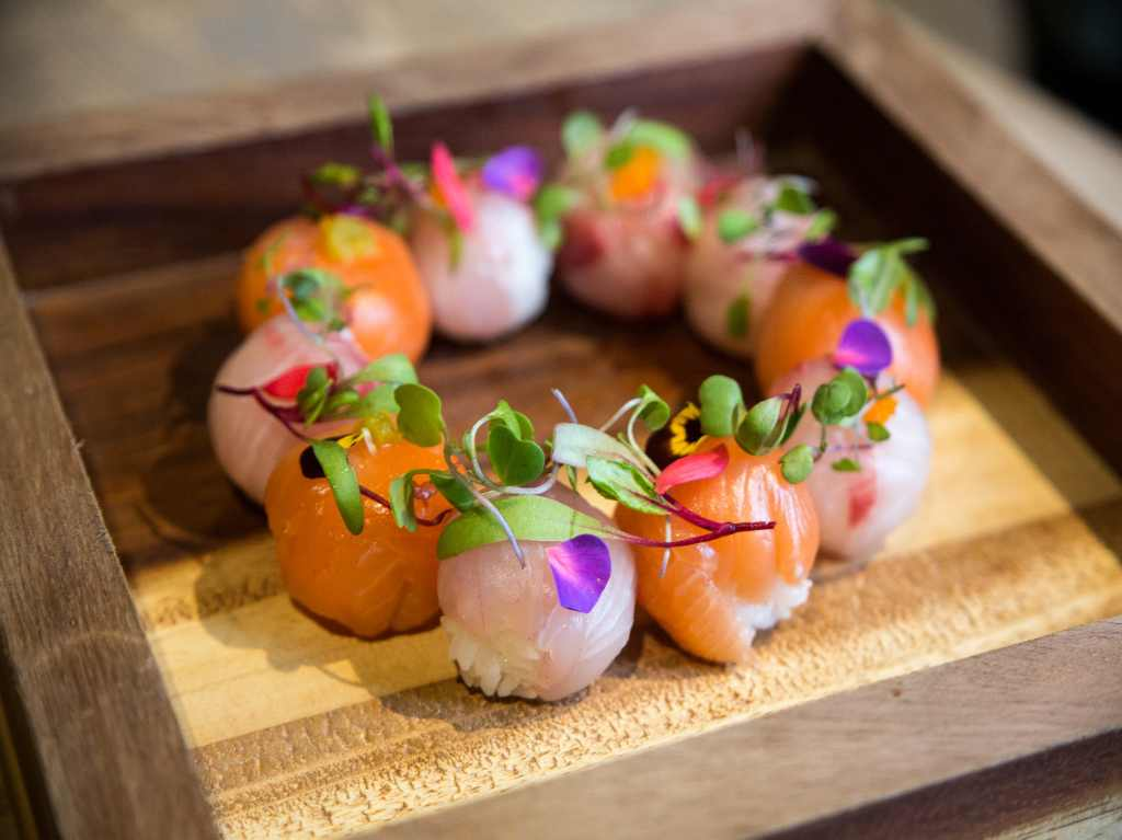 Wabi Sushi, sushi para geishas en la Roma