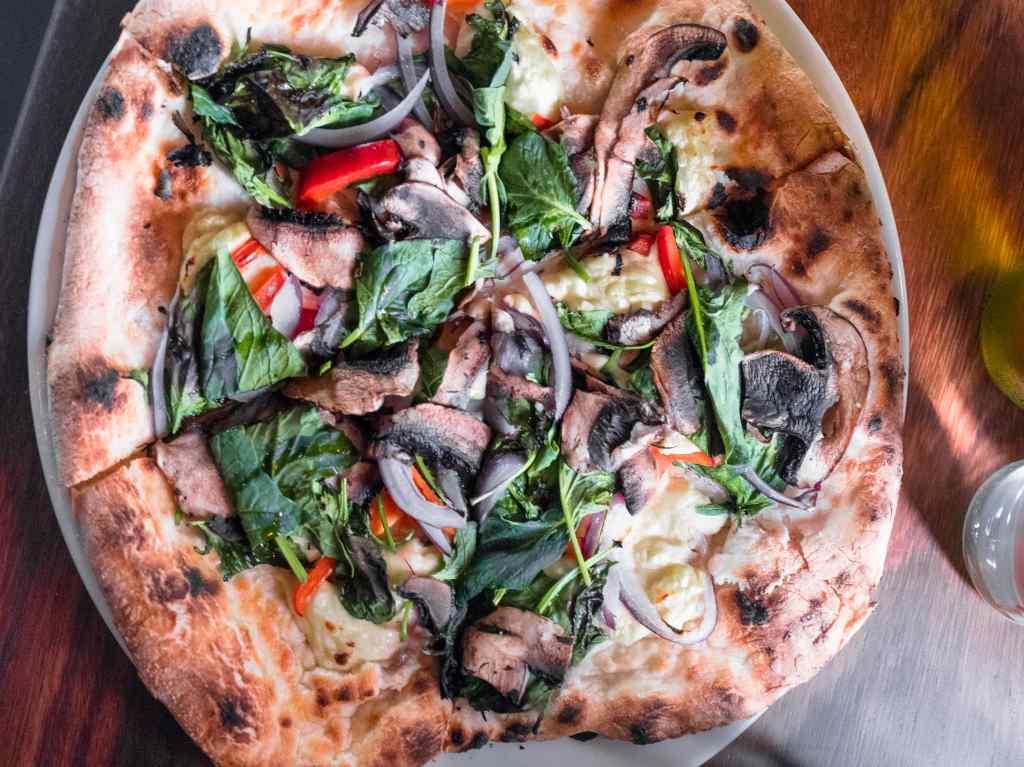 Farina, el rey de las pizzas en la Roma