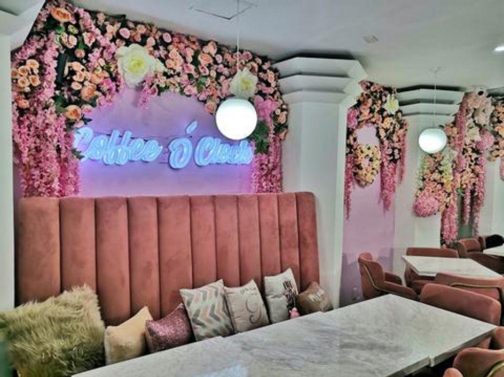Isabella Café: el café pink de la CDMX