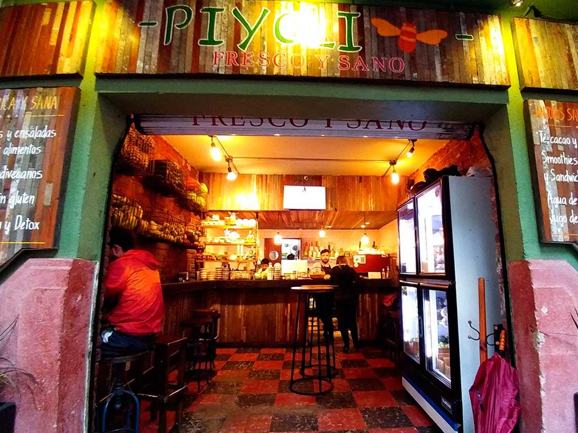 Piyoli: cafetería saludable